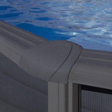 tapa para piscinas de acero 120 cm