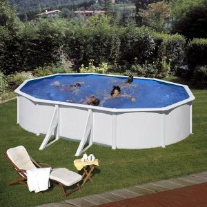 Piscina de acero blanco KIT610ECO